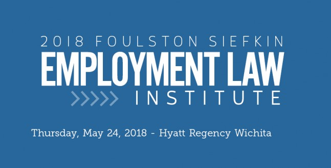 2018 Employment Law Institute