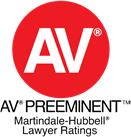 AV® AV Preeminent™ Martindale-Hubbell® Lawyer Ratings